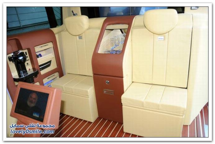 صور: تصميم رائع لمكتب داخل سيارة مرسيدس بنز BrabusMercedes-07
