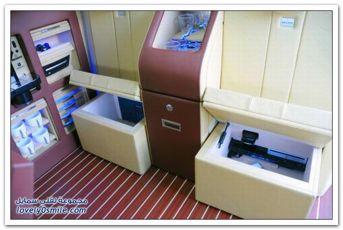 صور: تصميم رائع لمكتب داخل سيارة مرسيدس بنز BrabusMercedes-10