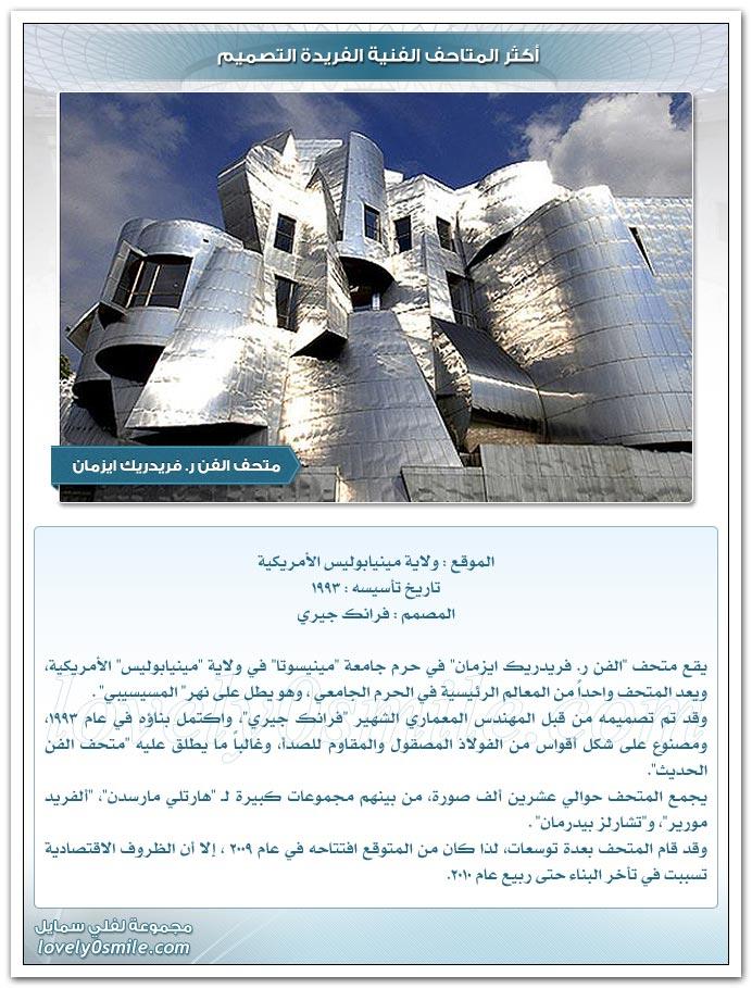 أكثر المتاحف الفنية الفريدة التصميم ArtisticUnusualMuseumDesign-07
