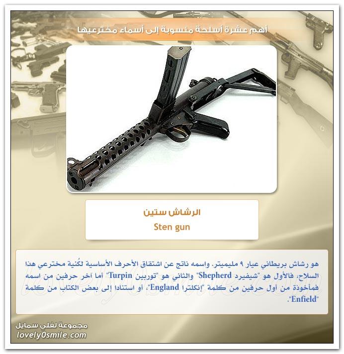 أهم عشرة أسلحة منسوبة إلى أسماء مخترعيها TopWeapons-09