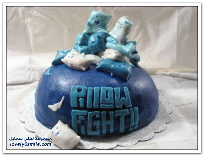 الكيك اشكال والوان...شاهد Cake-forms-and-colors-012