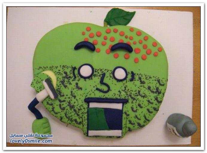 الكيك اشكال والوان...شاهد Cake-forms-and-colors-021