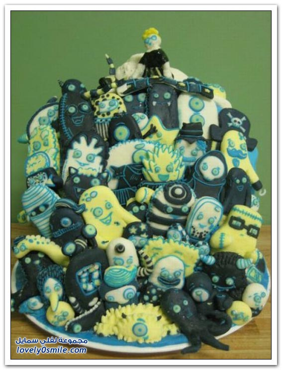 الكيك اشكال والوان...شاهد Cake-forms-and-colors-043