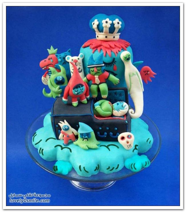 الكيك اشكال والوان...شاهد Cake-forms-and-colors-045