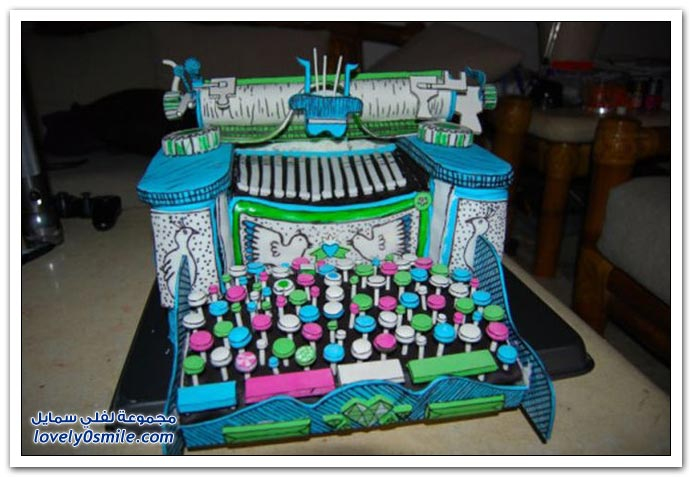 الكيك اشكال والوان...شاهد Cake-forms-and-colors-046