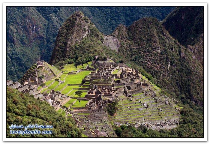 المدينة المفقودة مدينة ماتشو بيتشو لشعب الإنكا في البيرو Machu-Picchu-city-of-the-Inca-people-in-Peru-10