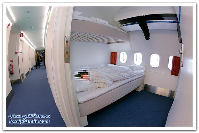فندق داخل الطائرة  Hotel-in-plane-01