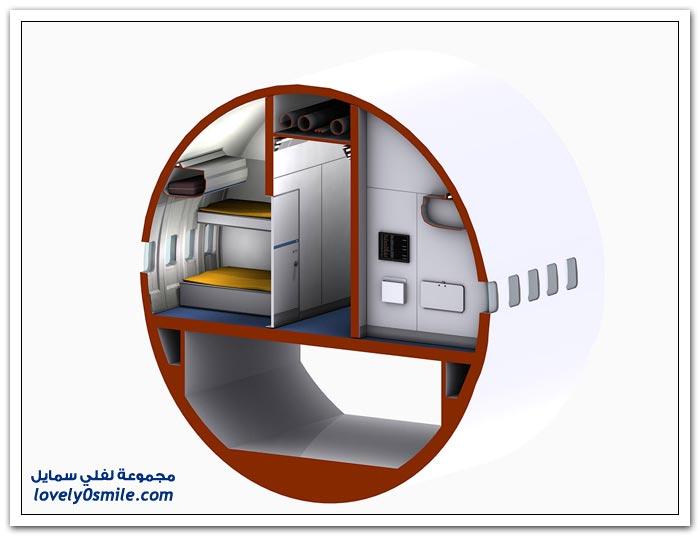 فندق داخل الطائرة  Hotel-in-plane-03