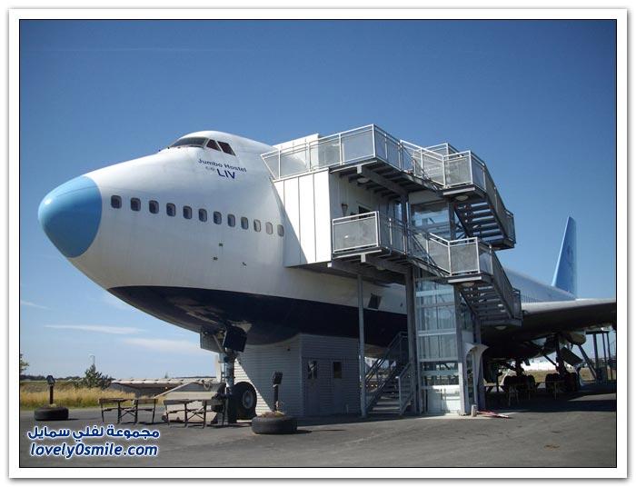 فندق داخل الطائرة  Hotel-in-plane-05
