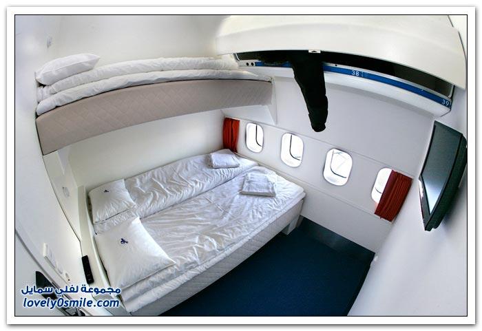 فندق داخل الطائرة  Hotel-in-plane-07
