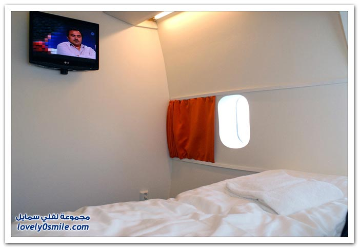 فندق داخل الطائرة  Hotel-in-plane-10