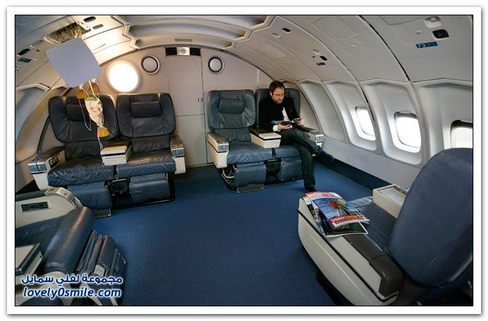 فندق داخل الطائرة  Hotel-in-plane-13