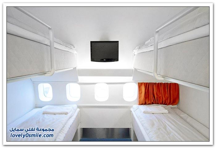 فندق داخل الطائرة  Hotel-in-plane-15
