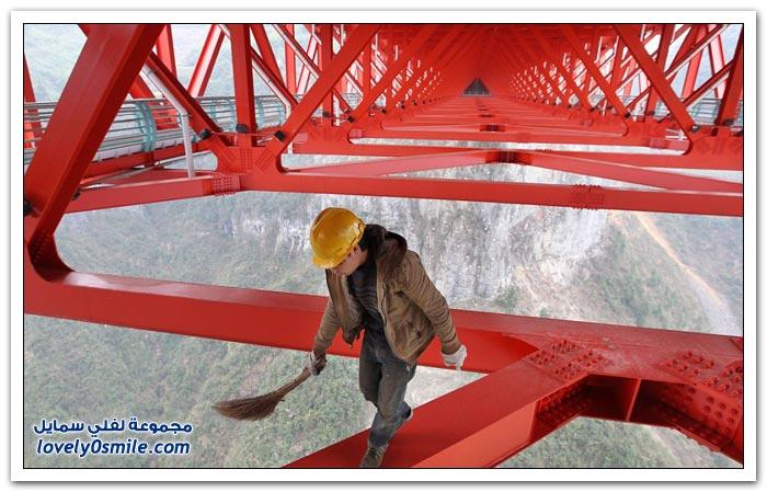افتتاح أعلى جسر معلق في العالم بالصين  Opening-of-the-highest-suspension-bridge-in-China-05