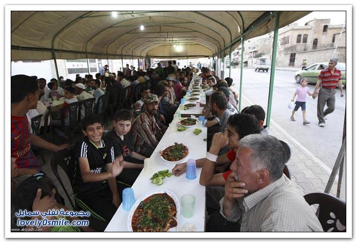 الفطور الجماعي في رمضان في بعض دول العالم Collective-breakfast-in-Ramadan-05