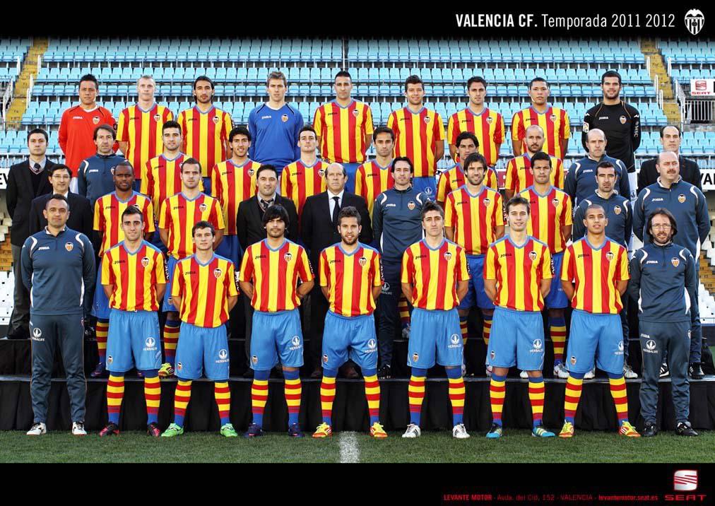 Hilo del Valencia C.F Valencia-cf-2011-2012