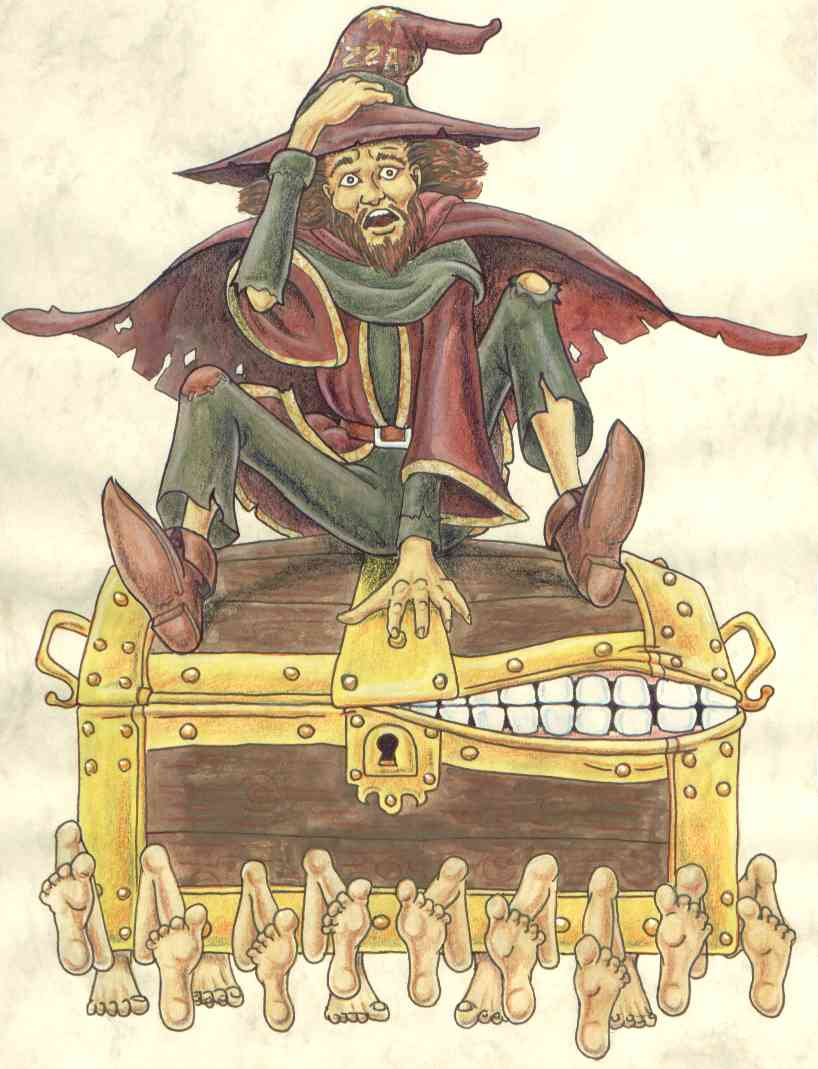 MTG Cards - Altered Art - Page 2 Rincewind-on-the-luggage
