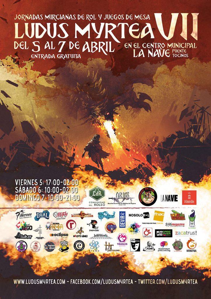 VII Jornadas de Rol de Murcia - Ludus Myrtea 5, 6 y 7 de Abril 2019   Ludus_Myrtea_2019-724x1024