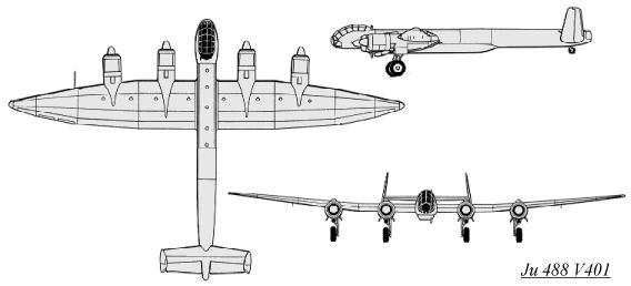 Les avions de la socièté Junkers 3bj488a