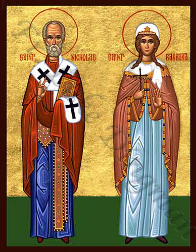 Pravoslavne ikone Nicholasandbarbara1