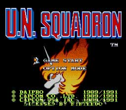 150 SNES games reviewed  - Page 3 SNES_U.N._Squadron_Screen_2