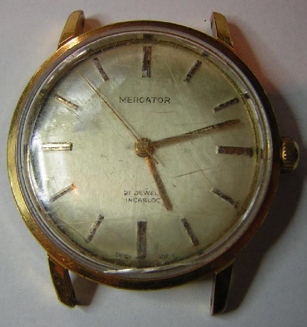 Mes débuts dans la restauration de montre MercatorAv
