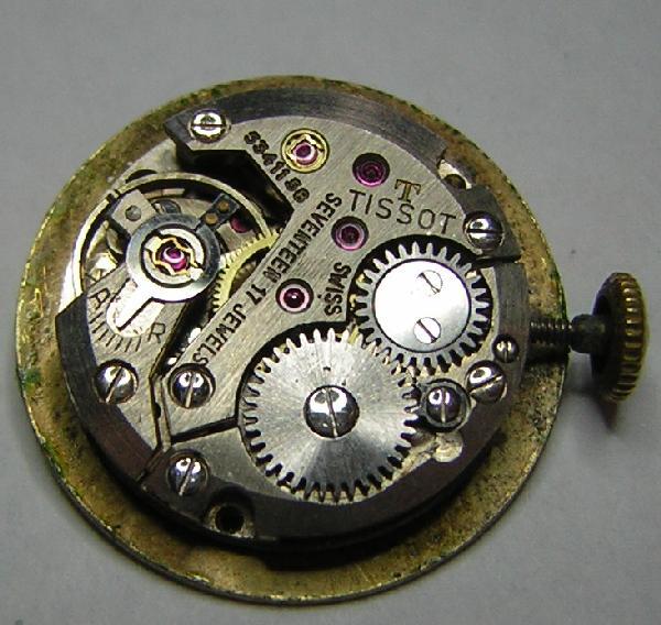 Mes débuts dans la restauration de montre TissotAr
