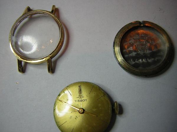 Mes débuts dans la restauration de montre TissotAv