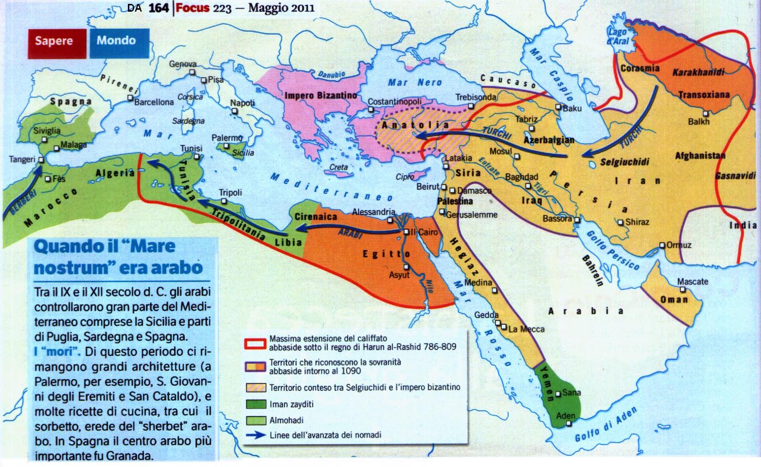 La raffinatissima cultura musulmana - Pagina 3 Mediterraneo_arabo