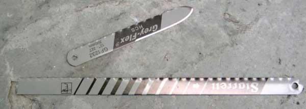 Proyecto: Hacer herramientas portatiles usando metal de hoja de machete tramontina M40-MiniBlade1