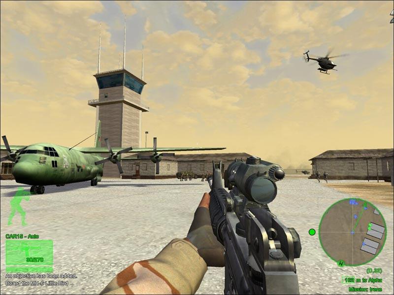 Delta Force : Black Hawk Down برابط واحد فقط+كراك 12