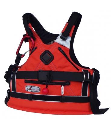 Une VHF portable, étanche et qui flotte. Que choisir? Gilet-sauvetage-kayak-securite-aqua-vet-ultima