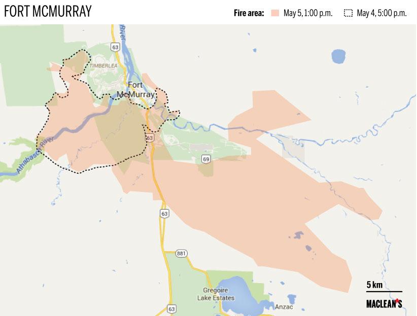 Apocalípticas imágenes del gran incendio de Alberta, Canadá Fortmcmurray_new