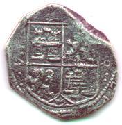 8 Maravedís de Felipe III 1835obvM