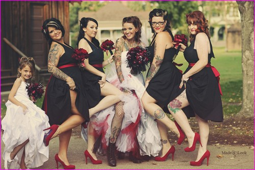 Le OLD SCHOOL 7-Rockabilly-wedding