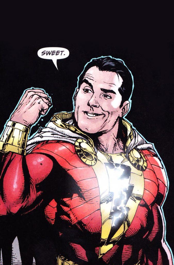 Looks like Shazam! may finally be returning with Geoff Johns . . .  ShazamComic-675x1024