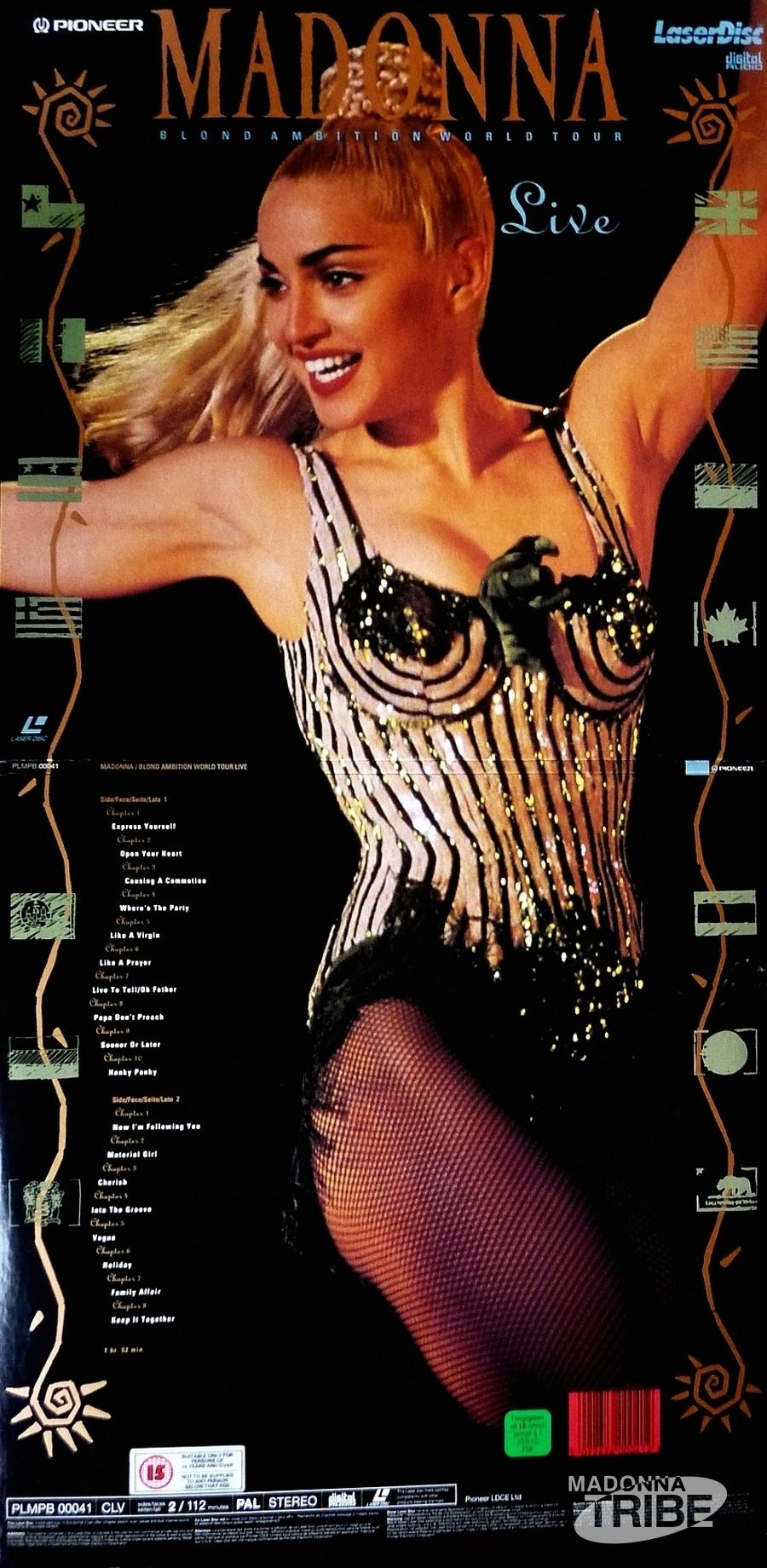 Gira 'Blond Ambition Tour' 1990 Blond_laserdisc_001