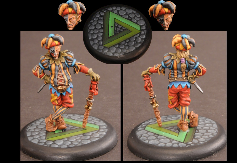 Foot remakes his Warbands! - Page 7 Penrose