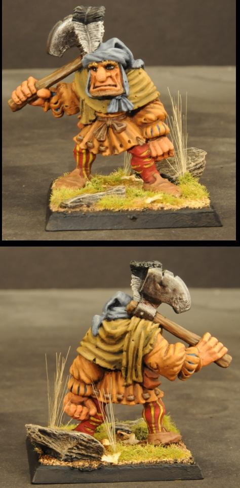 Halfling Warband Hogre