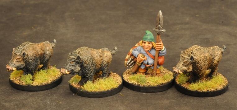 Halfling Warband Scoutboar