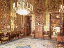 Madrid de los Borbones (I): El Palacio Real Sala_Amarilla