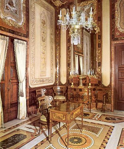 Madrid de los Borbones (I): El Palacio Real Hab_Rei_M_Luisa_HabMaderasFinas