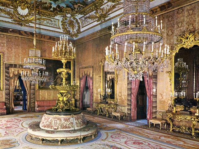 Madrid de los Borbones (I): El Palacio Real Saleta_Gasparini