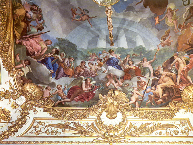 Madrid de los Borbones (I): El Palacio Real Saleta_Gasparini_Boveda