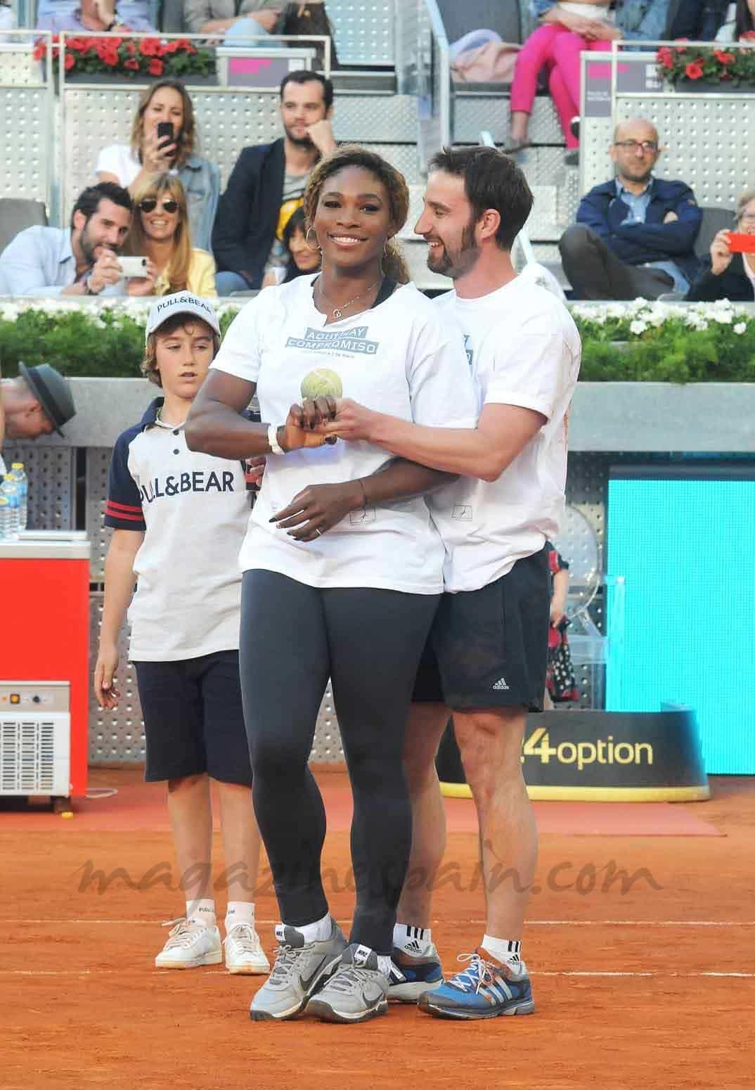 ¿Cuánto mide Serena Williams? - Altura - Real height Dani-Rovira-y-Serena-Williams