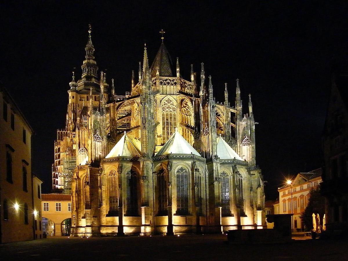 Najlepše katedrale sveta Prague-castle-st-vit-cathedral