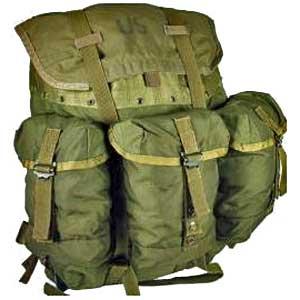 [VENDIDO] mochila US ARMY 'Alice' Medium (Auténtica) Medalicepack