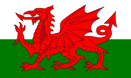 Les Drapeaux......... - Page 3 800px-Flag_of_Wales_2