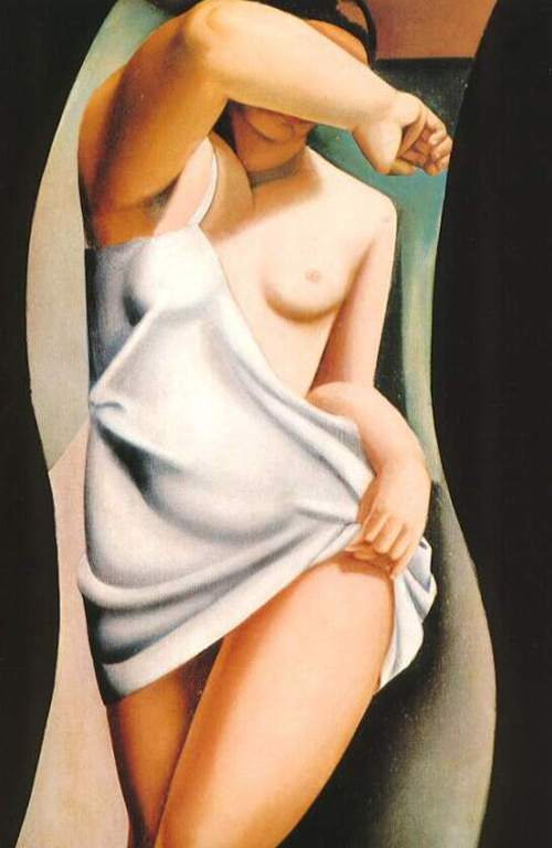 Art- post your favorite here  - Page 2 Lempicka-modelka