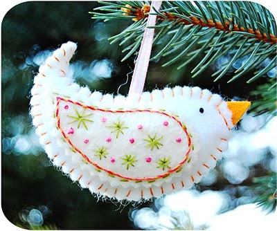 елочные игрушки своими руками Bird%201